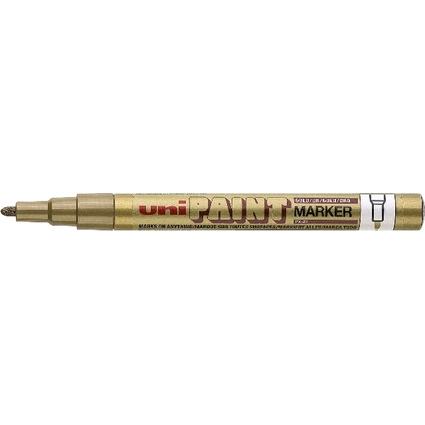 uni-ball Permanent-Marker PAINT (PX-21), gelb