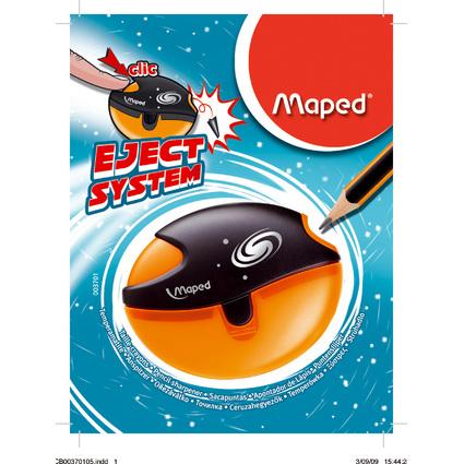 Maped Spitzdose Galactic, aus Kunststoff, farbig sortiert