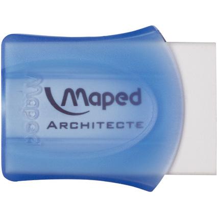 Maped Kunststoff-Radierer Architecte, weiß