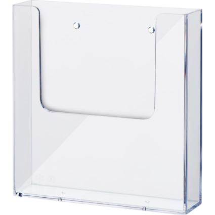 helit Wand-Prospekthalter, DIN A5, transparent