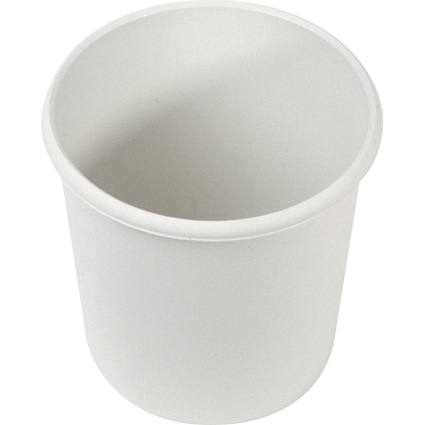 helit Papierkorb Economy, 18 Liter, PP, lichtgrau