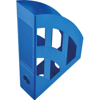 helit Stehsammler Economy, DIN A4, PP, blau