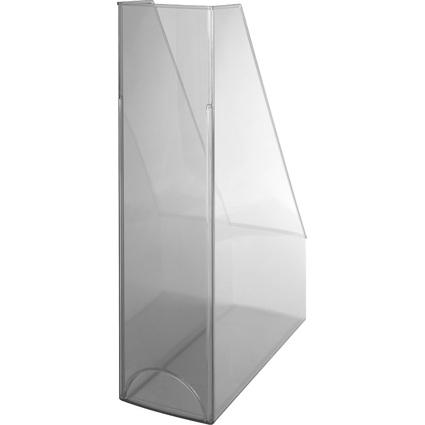 helit Stehsammler Economy Transparent, Polystyrol, glasklar