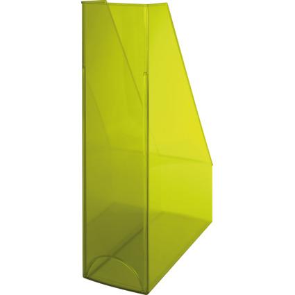 helit Stehsammler Economy Transparent, gelb-transparent