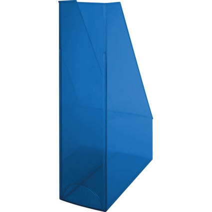 helit Stehsammler Economy Transparent, blau-transparent