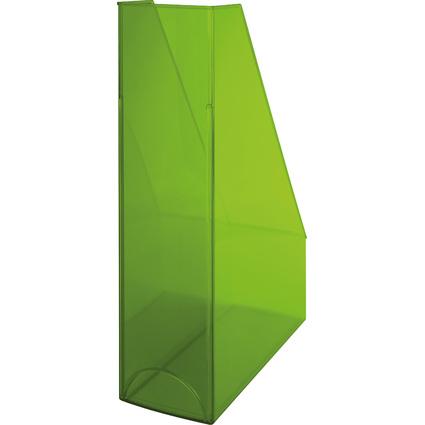 helit Stehsammler Economy Transparent, grün-transparent