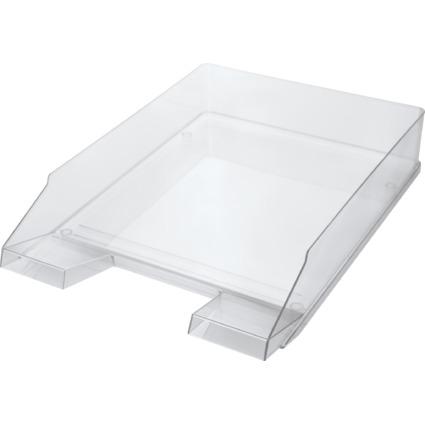 helit Briefablage Economy Transparent, Polystyrol, glasklar