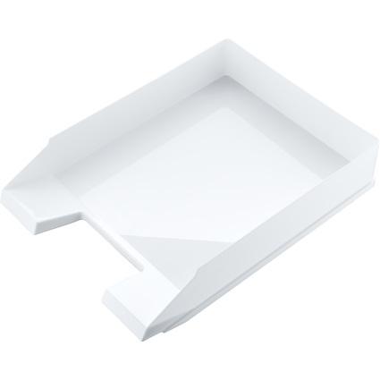 """helit Briefablage """"Black & White, DIN A4, weiß"""