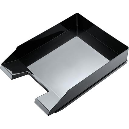 """helit Briefablage """"Black & White, DIN A4, schwarz"""