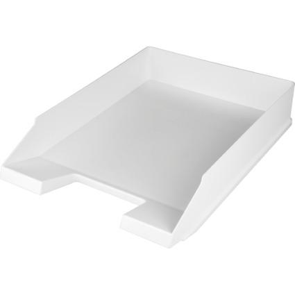 helit Briefablage Economy, DIN A4, Polystyrol, weiß