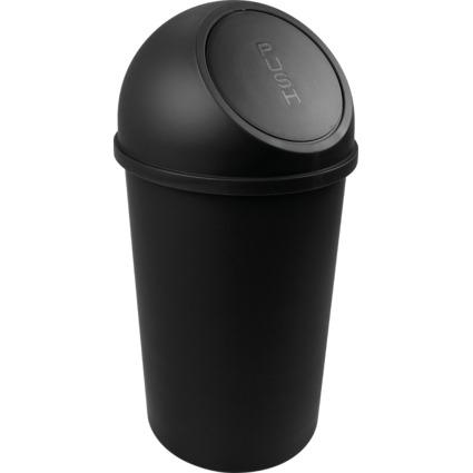 helit Abfalleimer mit Push-Einwurfklappe, 25 Liter