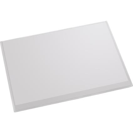 helit Schreibunterlage, 630 x 500 mm, lichtgrau