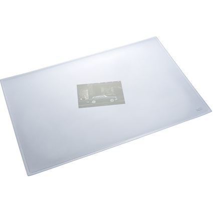 helit Schreibunterlage, 630 x 500 mm, transparent matt