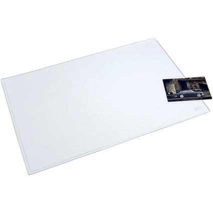 helit Schreibunterlage, 630 x 500 mm, glasklar