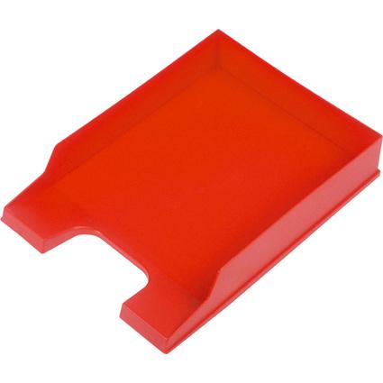 helit Briefablage Standard, DIN A4, Polystyrol, rot