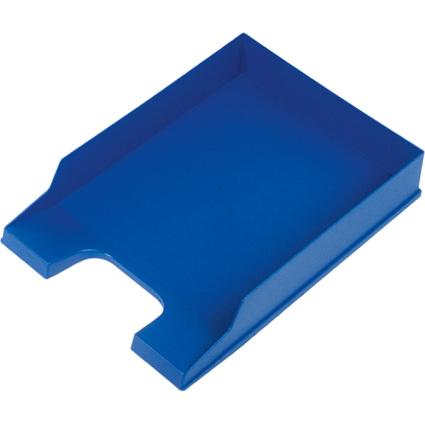 helit Briefablage Standard, DIN A4, Polystyrol, blau