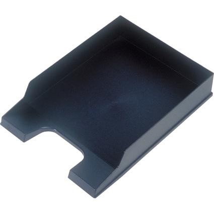 helit Briefablage Standard, DIN A4, Polystyrol, schwarz