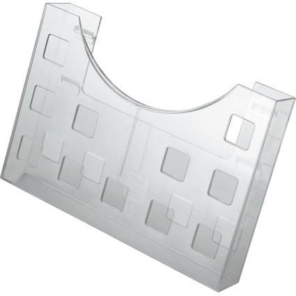 helit Prospekthalter, DIN A5 quer/2x DIN A6 hoch, glasklar