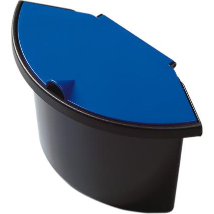 helit Abfall-Einsatz für Papierkorb H61058, schwarz/blau