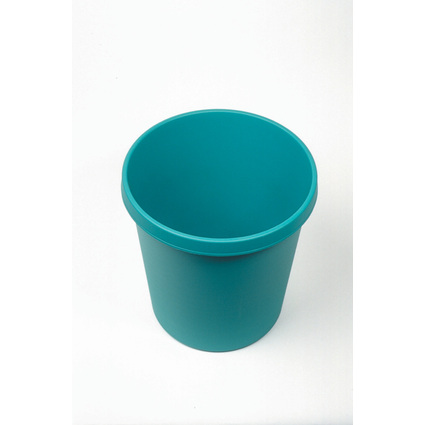helit Gross-Papierkorb, 45 Liter, PE, grün