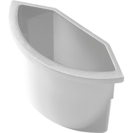 helit Abfall-Einsatz für Papierkorb H61058/H61052, lichtgrau