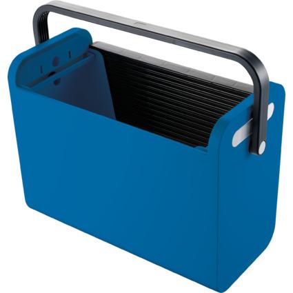 "helit Hängeregistratur-Box ""Mobilbox"", blau"