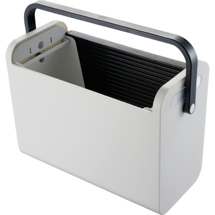 "helit Hängeregistratur-Box ""Mobilbox"", lichtgrau"