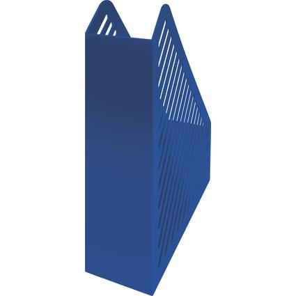 helit Stehsammler Gitterstruktur, DIN A4, Polystyrol, blau