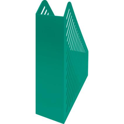 helit Stehsammler Gitterstruktur, DIN A4, Polystyrol, grün