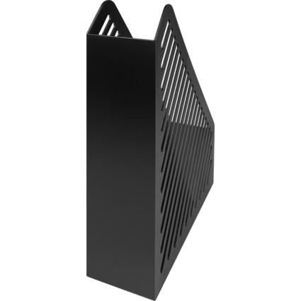 helit Stehsammler Gitterstruktur, DIN A4, Polystyrol,schwarz