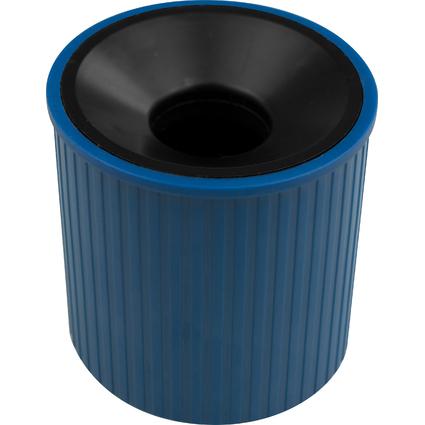 helit Klammernspender Linear, aus Polystyrol, blau