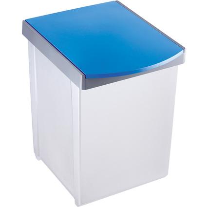 helit Wertstoffsammelbox, 20 Liter, blau
