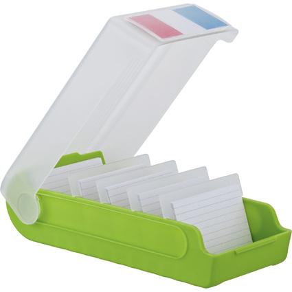 helit Lernkartei BeeBox, A8, Unterteil: limette-transluzent