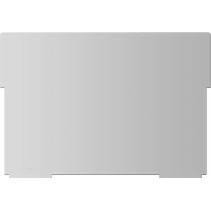 helit Stellbrett für Karteitrog A4 quer, lichtgrau