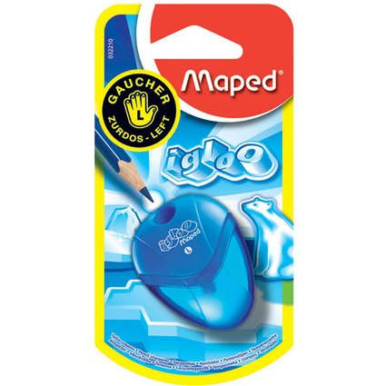 Maped Spitzdose i-gloo, für Linkshänder, 24er Display
