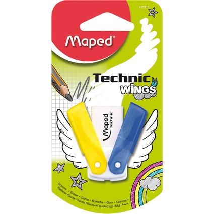 Maped Kunststoff-Radierer Technic Wings, weiß