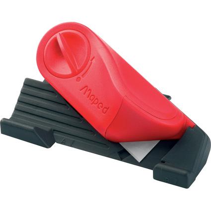 Maped Schneidewerkzeug Matt Cutter 45 Grad, schwarz/rot
