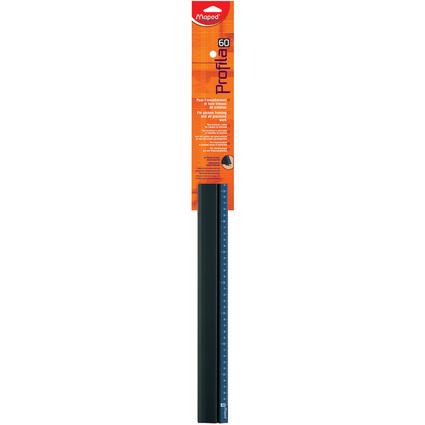 Maped Schneidelineal Profila, aus Aluminium, Länge: 600 mm