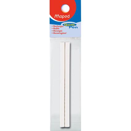 Maped Ersatzradierer für Radierstift Gom-Pen, weiß