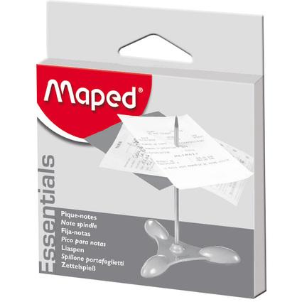 Maped Zettelspieß, Sockel und Nagel aus Metall, silber