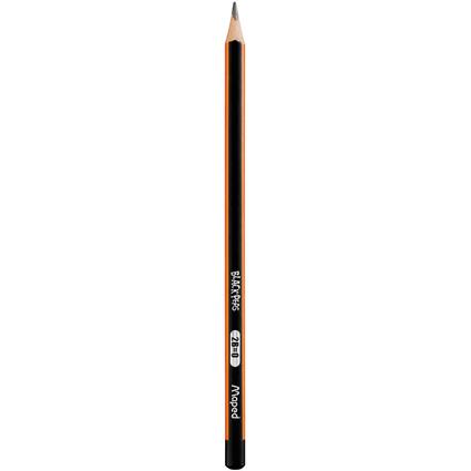 Maped Bleistift BLACK'PEPS, Härtegrad: 2B
