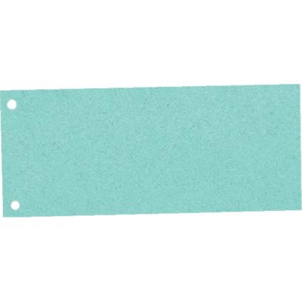 Esselte Trennstreifen, für DIN A4 Format, gelocht, blau