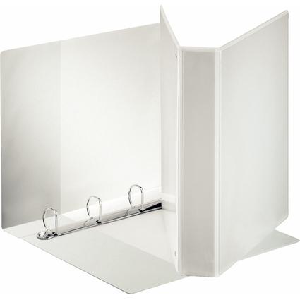 Esselte Präsentations-Ringbuch Standard, A4 Überbreite, weiß