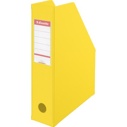Esselte Stehsammler VIVIDA, DIN A4, Pappe, gelb, (B)70 mm