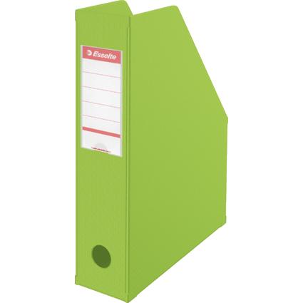 Esselte Stehsammler VIVIDA, DIN A4, Pappe, grün, (B)70 mm