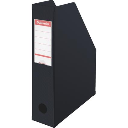 Esselte Stehsammler VIVIDA, A4, Pappe, schwarz, (B)70 mm
