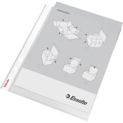 Esselte Prospekthülle Standard, DIN A4, PP, glasklar, 0,06mm