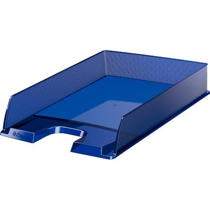 Esselte Briefablage Europost, DIN A4, dunkelblau-transparent