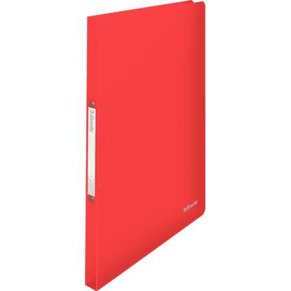 Esselte Ringbuch VIVIDA, aus PP, 2-Ringe, rot