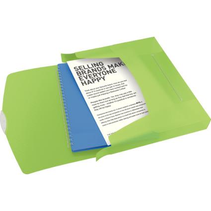 Esselte Sammelbox VIVIDA, DIN A4, grün-transluzent
